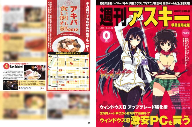 週刊アスキー 秋葉原限定版 2013 2月号