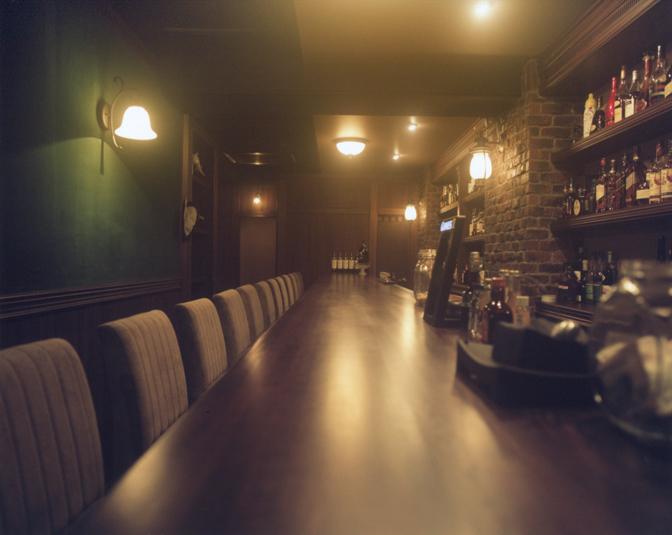 Bar Sekirei カウンター
