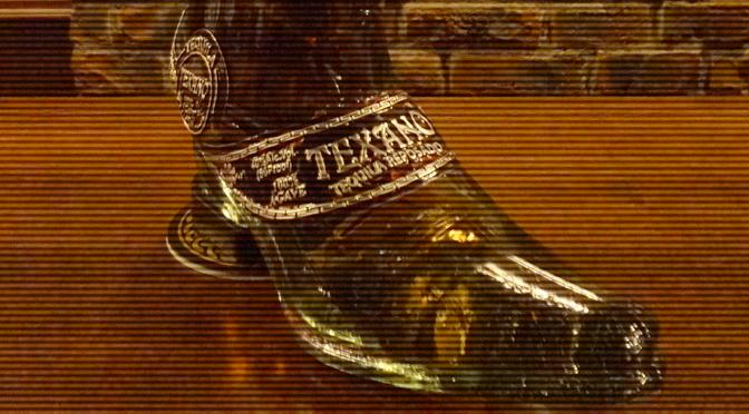 『テキサノ レポサド ブーツボトル』入荷しました。