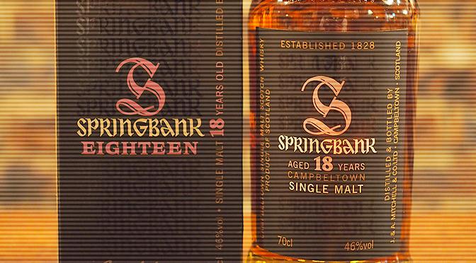 『スプリングバンク 18年 [2014Release]』入荷しました。