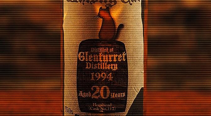 『ウイスキーキャット グレンタレット 1994年』入荷しました。