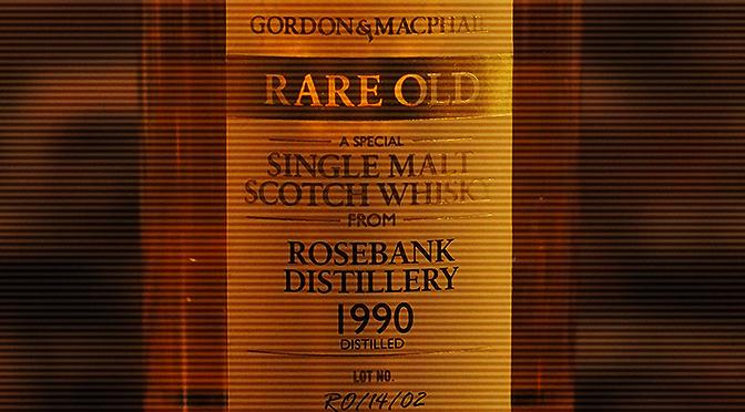 """『ゴードン&マクファイル """"レア・オールド"""" ローズバンク 1990年』入荷しました。"""