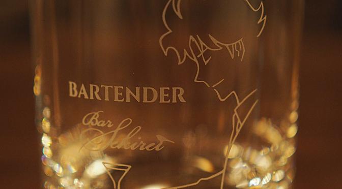 Bar  Sekirei× コミック『Bartender』ダブルネーム・ロックグラス発売!